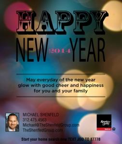 Michael Shenfeld Happy NewYear 2013